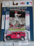 2004 Philadelphia Phillies 1/64th Hummer with Jim Thome Fleer card