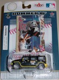 2004 Pittsburgh Pirates 1/64th Hummer with Jason Kendall Fleer card