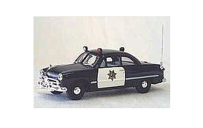 1949 California State Police 1/43 Ford