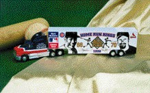 1998 McGwire/Sosa 1/64 70/66 Home Run hauler