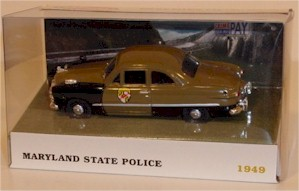 1949 Maryland State Police 1/43 Ford