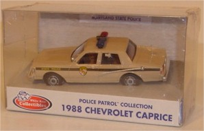 1988 Maryland State Police 1/43 Chevy Caprice