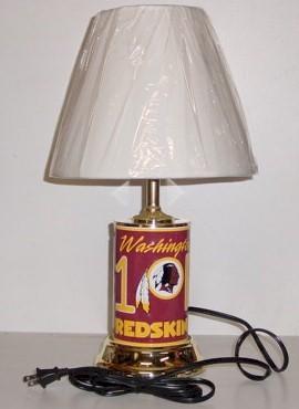 2007 Washington Redskins Table Lamp