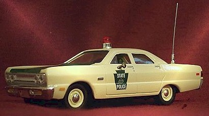 1969 Pennsylvania State Police 1/43 Plymouth Fury