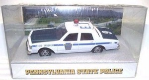 1988 Pennsylvania State Police 1/43 Chevy Caprice