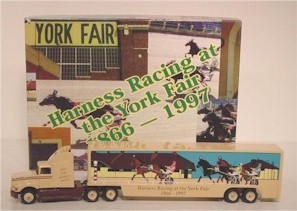 "1997 ""Harness Racing at the York Fair 1866-1997"" Winross Hauler"