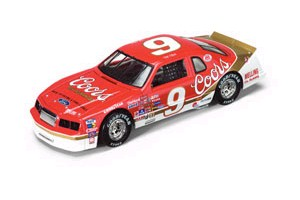 "1984 Bill Elliott 1/24 Coors ""Coors Sponsored 1st Win"" c/w car"