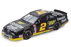1995 Rusty Wallace 1/24 MGD T-Bird c/w car