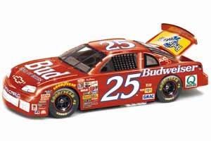1997 Ricky Craven 1/24th Budweiser b/w bank