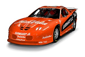 1999 Dale Earnhardt Jr 1/24th IROC c/w car