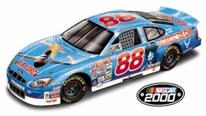 2000 Dale Jarrett 1/24 Air Force b/w bank