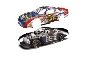 "2000 Mike Skinner 1/64th Lowe's ""Army"" Total Concept car"