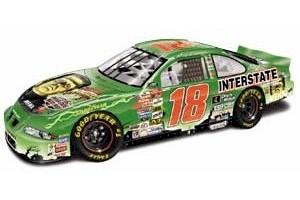 """2000 Bobby Labonte 1/24th Interstate Batteries """"Frankenstein"""" b/w bank"""