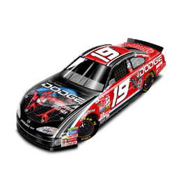 "2001 Casey Atwood 1/24th Dodge Dealers ""Spiderman"" c/w car"