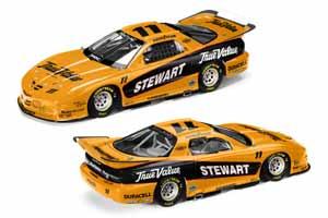 2001 Tony Stewart 1/24 IROC c/w car