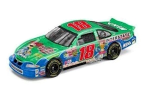 "2002 Bobby Labonte 1/24th Interstate Batteries  ""Muppets"" c/w car"