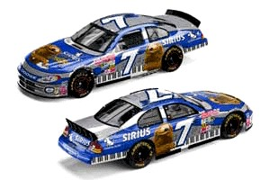 "2002 Casey Atwood 1/24th Sirus ""Muppets"" c/w car"