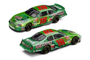 "2003 Bobby Labonte 1/64th Interstate Batteries ""The Hulk"" car"