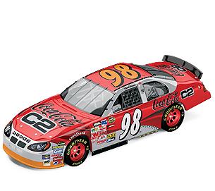 2004 Bill Elliott 1/24th Coca Cola C2 c/w car