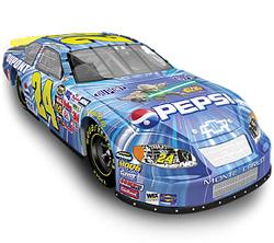 "2005 Jeff Gordon 1/64th Pepsi ""Star Wars III"" AP car"