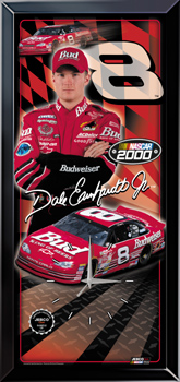 2000 Dale Earnhardt Jr Budweiser Jebco clock