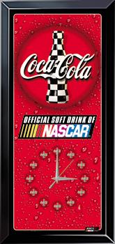 2002 NASCAR/Coke Jebco clock