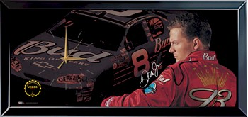 2003 Dale Earnhardt Jr Budweiser Jebco clock