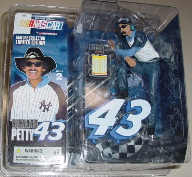 2003 Richard Petty NY Yankees McFarlane Figurine