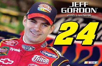 2005 Jeff Gordon 11X15 Calendar
