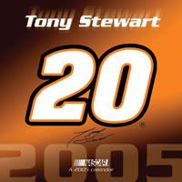 2005 Tony Stewart 12x12 Calendar