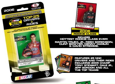 2006 Press Pass 50 Card NASCAR Set