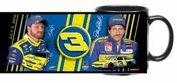 2010 Dale Earnhardt Jr/Sr Wrangler mug