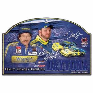 2010 Dale Earnhardt SR/JR Wrangler Sign by Wincraft