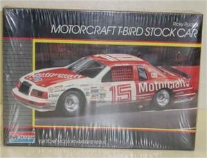 1986 Ricky Rudd 1/24th Motorcraft Thunderbird model kit by Monogram