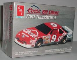 1990 Bill Elliott 1/24th Coors Thunderbird model kit by AMT