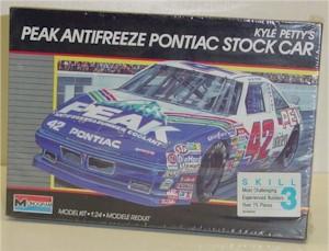 1990 Kyle Petty 1/24 Peak Anti-Freeze model kit