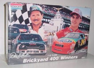 1996 Dale Earnhardt/Jeff Gordon 1/24th Brickyard Winners Model Kit