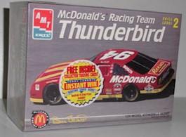 1995 Bill Elliott 1/24th McDonalds Model Kit