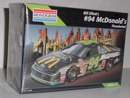1995 Bill Elliott 1/24th McDonalds/Batman Thunderbat Model Kit