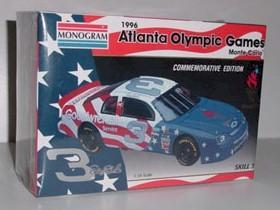 1996 Dale Earnhardt 1/24th Atlanta Olympic Games Model Kit