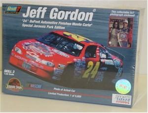 1997 Jeff Gordon 1/24 Jurassic model kit