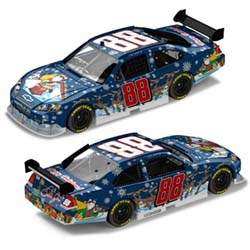 "2008 Dale Earnhardt Jr 1/24th ""Sam Bass Holiday"" car"
