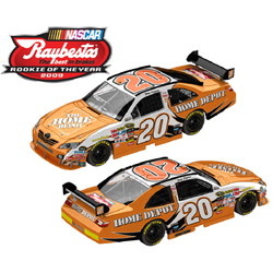 "2009 Joey Logano 1/24th Home Depot ""Rookie of the Year"" car"