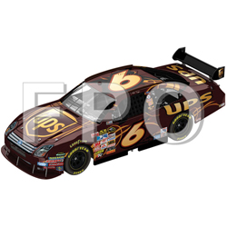2010 David Ragan 1/64th UPS  Pitstop Series car