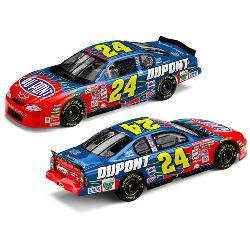"2001 Jeff Gordon 1/24th Dupont ""Dupont 20th Anniversary 4th Championship"" car"