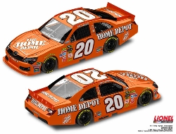 2012 Joey Logano 1/64th Home Depot Pitstop Series car