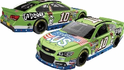 "2013 Danica Patrick 1/24th GoDaddy.com ""Salutes""  ""Start With .US"" car"