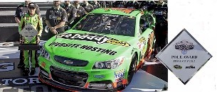 "2013 Danica Patrick 1/24th GoDaddy.com ""Daytona Pole Winner"" car"