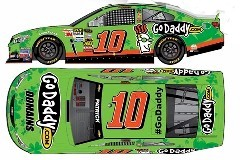"2013 Danica Patrick 1/64th GoDaddy.com ""Irish"" Pitstop Series car"