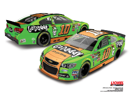 2014 Danica Patrick 1/24th GoDaddy.com car
